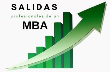 Salidas profesionales de un MBA