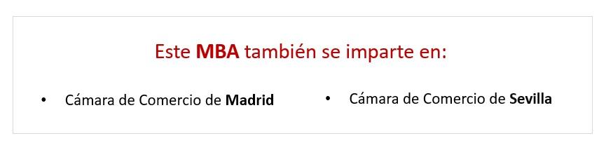 Precio Executive MBA en Valencia
