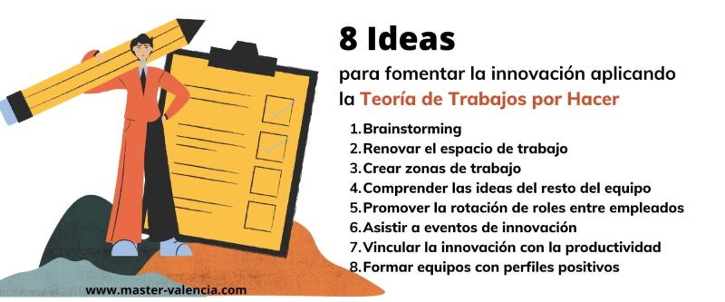 8 Ideas para aplicar la teoría de trabajos por hacer a la empresa y generar innovación